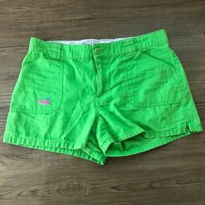 Lilly Pulitzer Girls Size 16 Green Shorts: 1452
